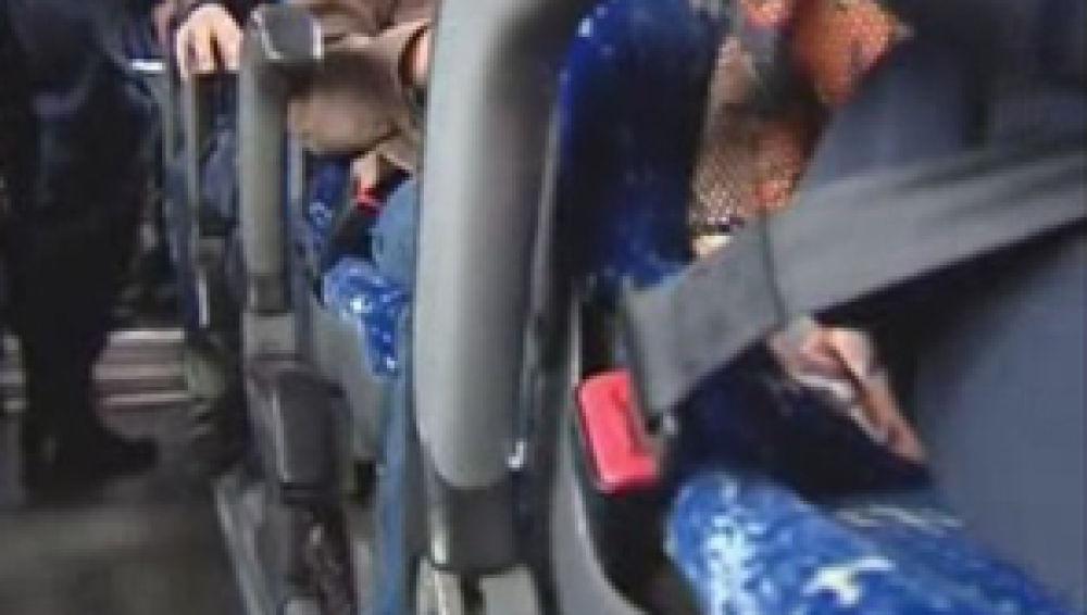 Cinturón de seguridad en autobuses escolares