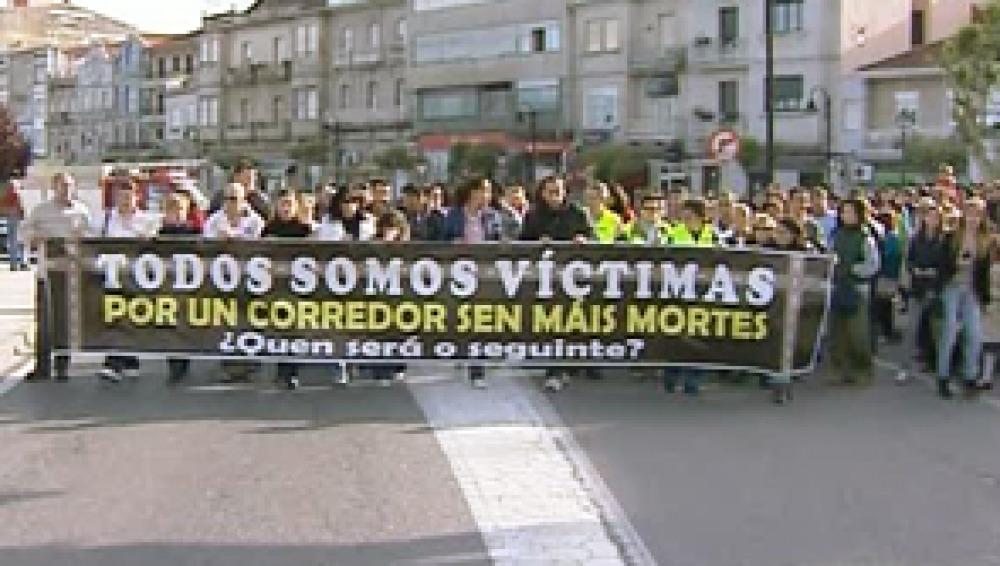 Piden más seguridad en el peor punto de las carreteras gallegas