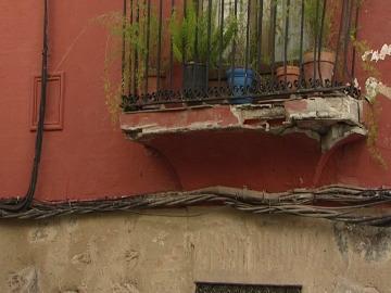 El balcón de los mil golpes está en Cáceres