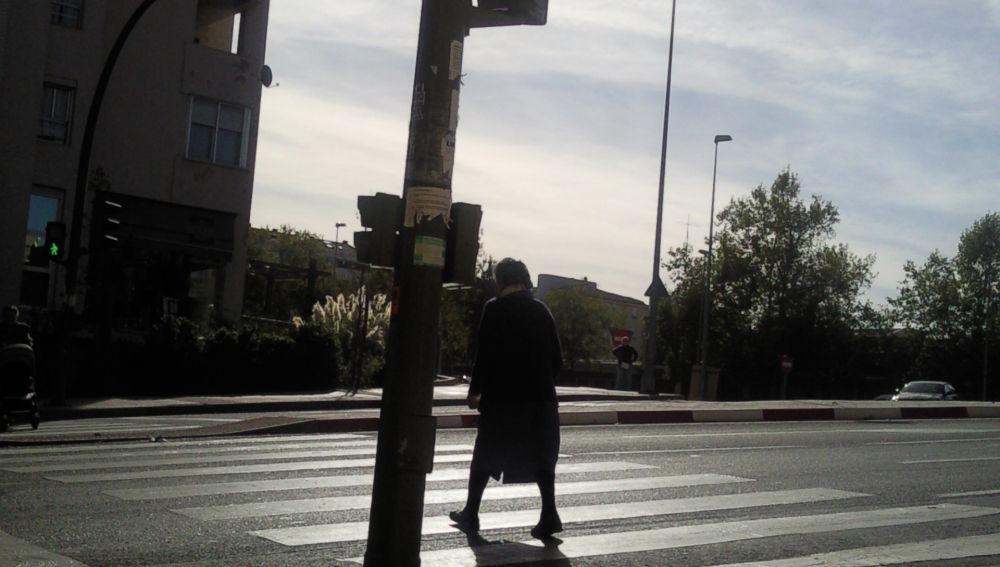 Semáforo no accesible