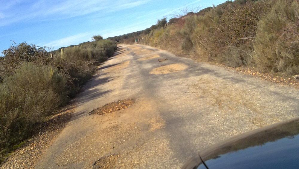 No es una carretera, es un camino