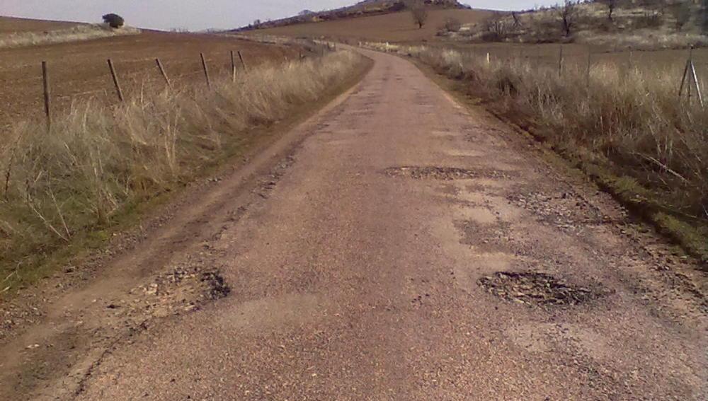 La carretera está mal, pero va a peor