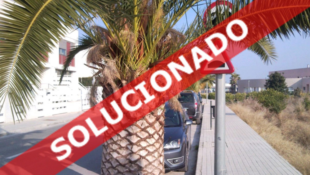Calle Almenares Solucionado