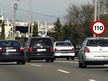 Menos multas a 110km/h