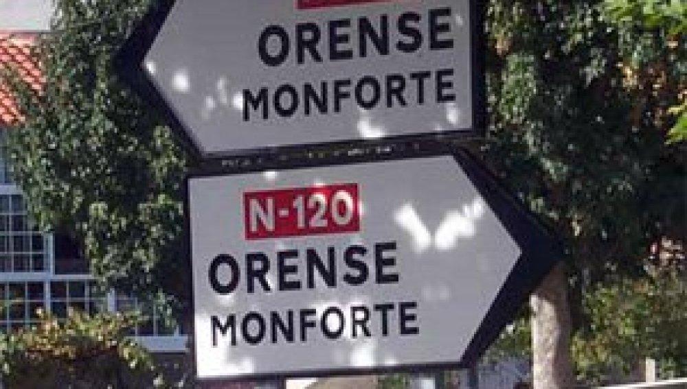 N-120 Orense- Monforte