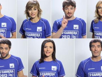 Las caras de Atresmedia te invitan a participar en la 5ª Carrera Ponle Freno