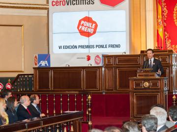 Matías Prats anuncia el Manifiesto 2020 Cero Víctimas en el Senado