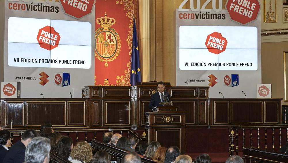 Matías Prats en los Premios Ponle Freno
