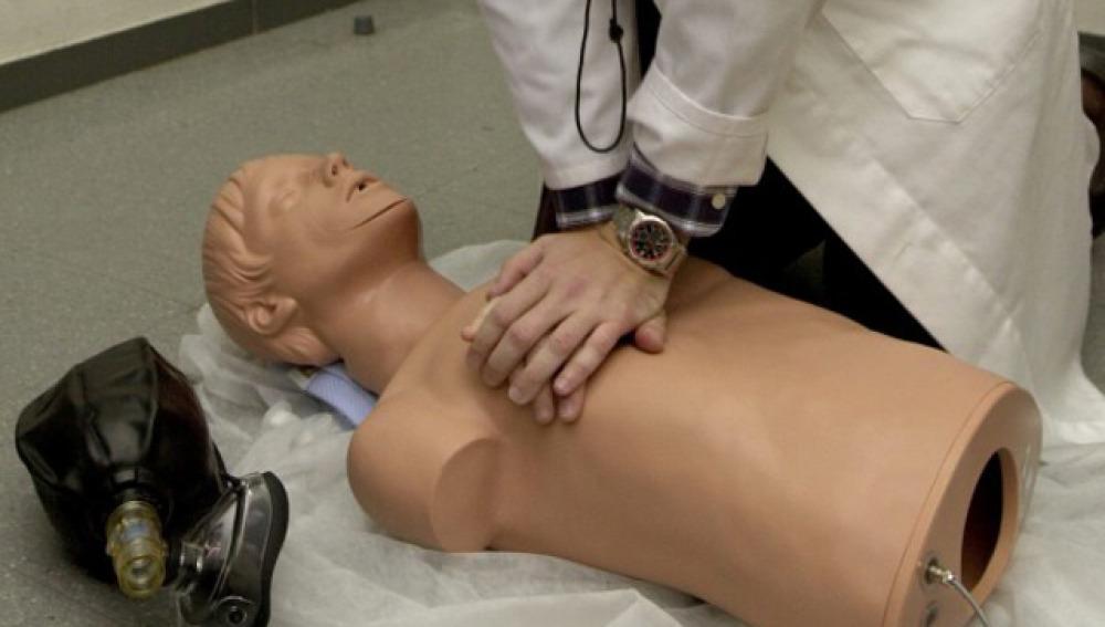 Maniobra de reanimación cardiopulmonar