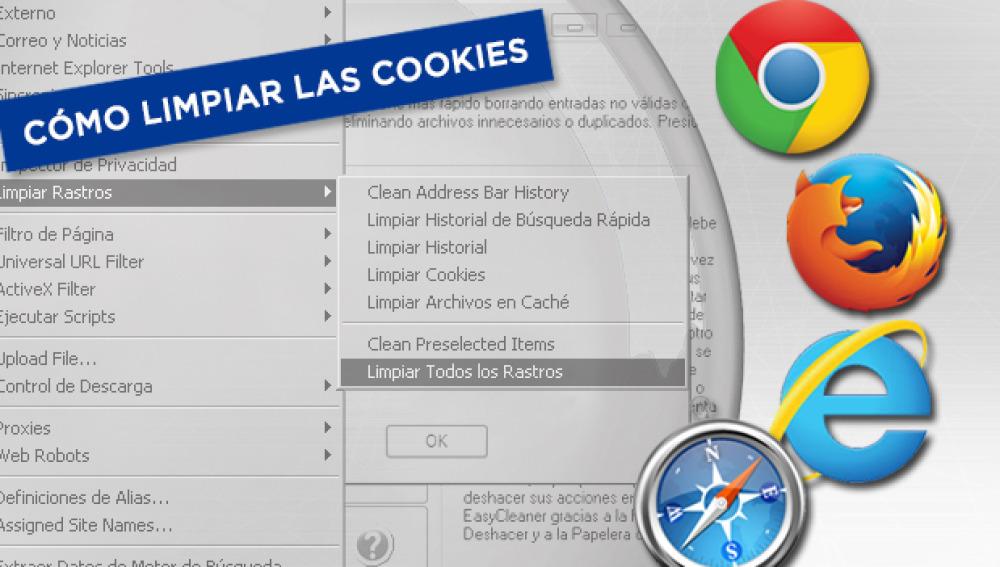 Cómo limpiar las cookies