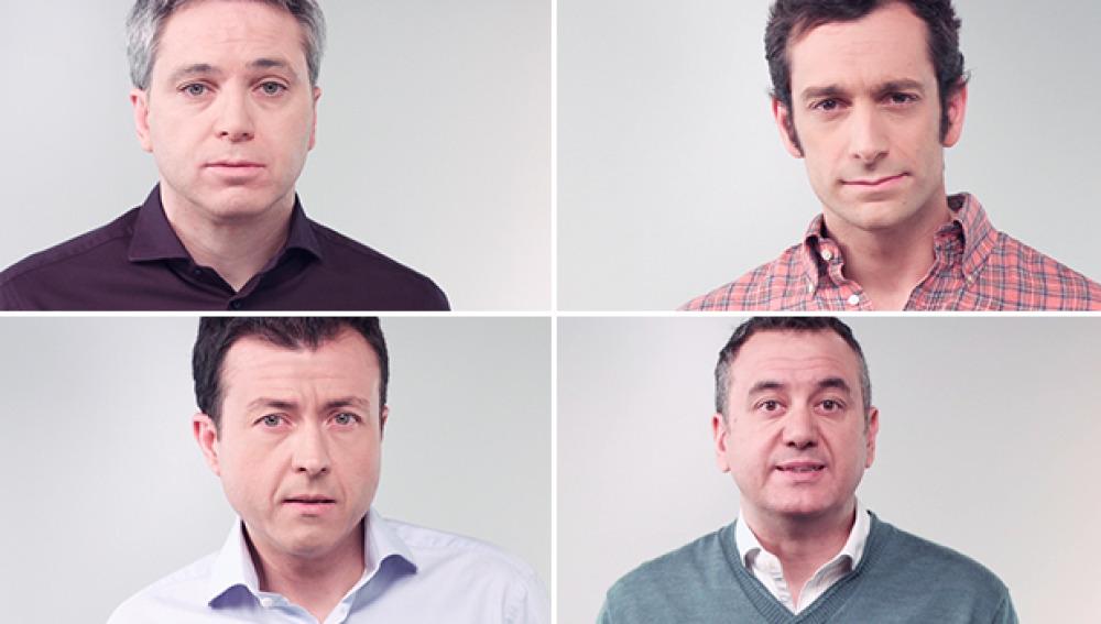 Los presentadores de Antena 3 Noticias, contra la violencia de género
