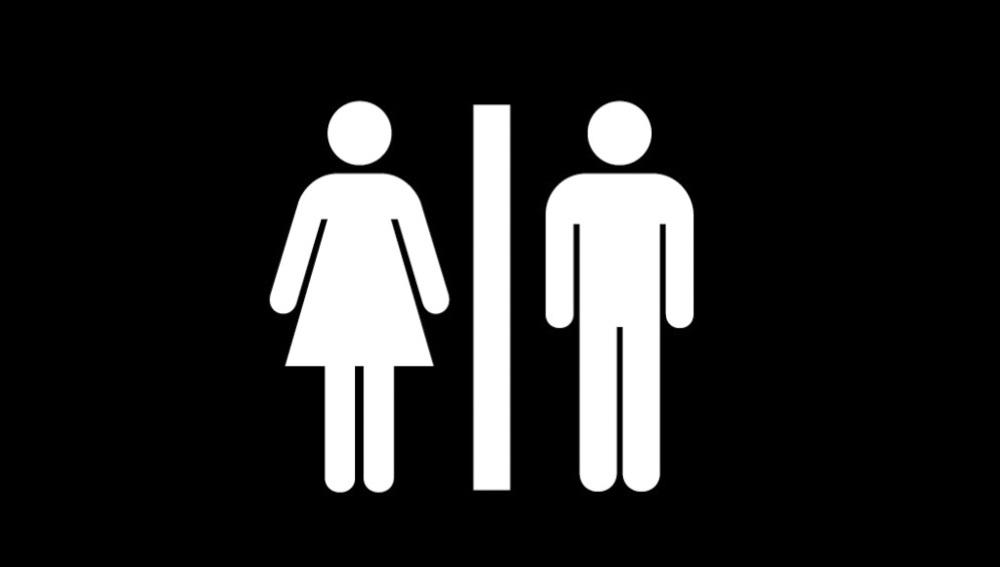 Baños de hombres y mujeres