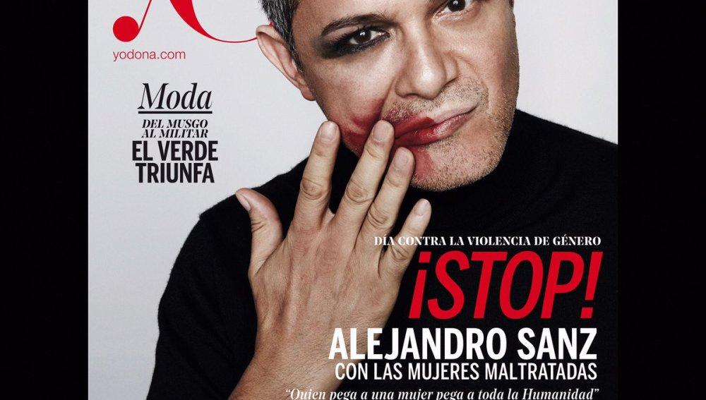 """Alejandro Sanz: """"El que pega a una mujer pega a toda la Humanidad"""""""