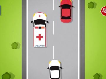Frame 41.091103 de: Qué es lo que no debemos hacer si vemos una ambulancia