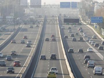 El tráfico en la A-6