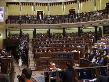 Vista general del Congreso de los Diputados