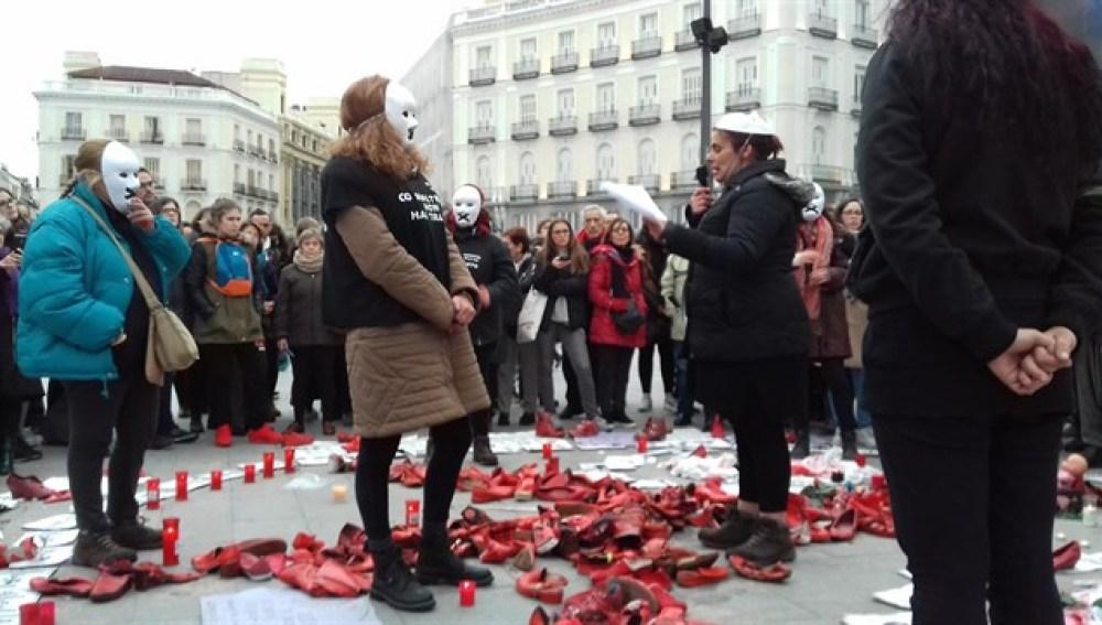 """En huelga de hambre para luchar por """"un país sin violencia machista"""