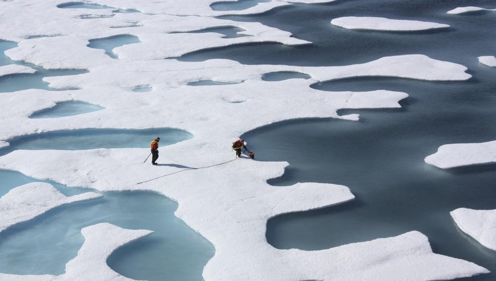 Imagen de archivo del Océano Ártico