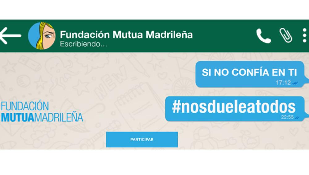 Fundación Mutua Madrileña lanza #Nosduelatodos