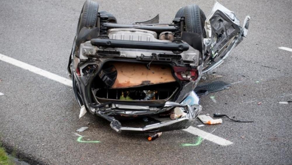 El tipo de accidente de tráfico más frecuente en carreteras convencionales
