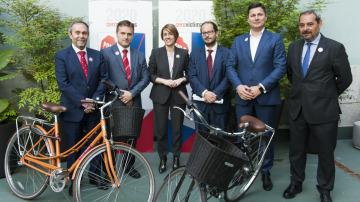 Presentación estudio siniestralidad y uso de la bici