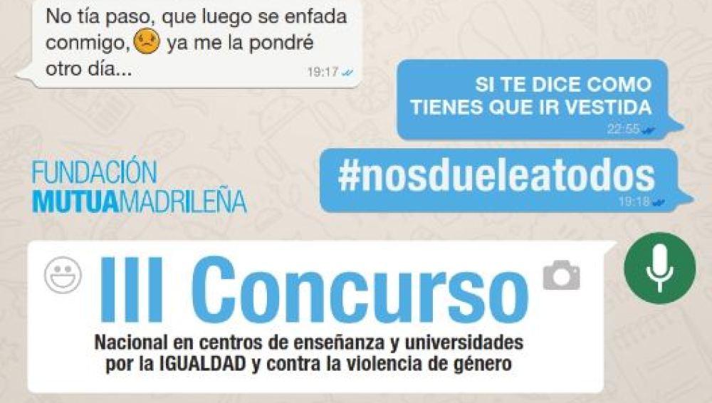 La Fundación Mutua Madrileña convoca 'Nos duele a todos', un concurso contra la violencia de género para estudiantes