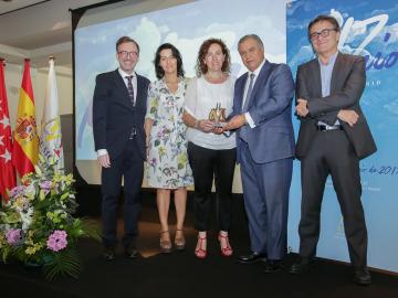 La campaña 'Cosas que te dejan sin aliento', premio NEUMAMADRID 2017 a la Personalidad Sociosanitaria del Año