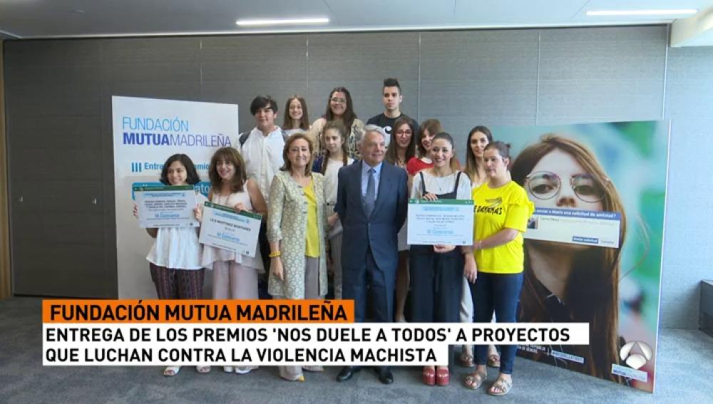 La Fundación Mutua Madrileña premia la creatividad de los jóvenes contra la violencia de género