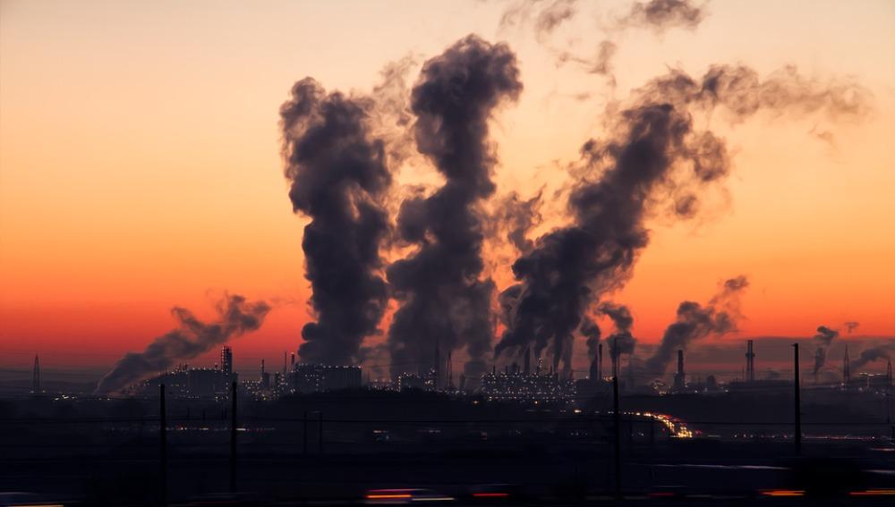 El aire y el polvo contaminado llegan a Europa desde EEUU