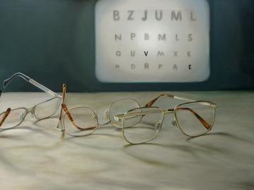 Imagen de archivo de una consulta de de oftalmología.