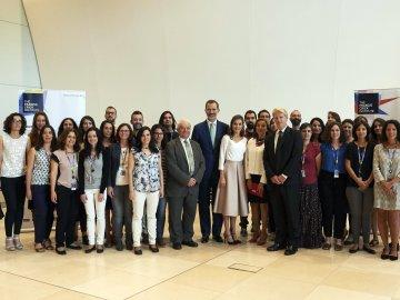 Investigadores españoles lamentan ante los Reyes la escasa inversión científica