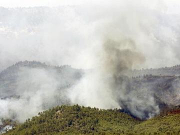 Incendio en Yeste (Albacete)
