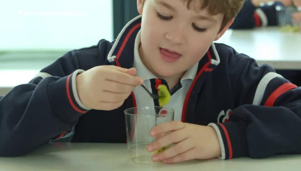 ¿Qué podemos hacer para que los niños coman fruta?