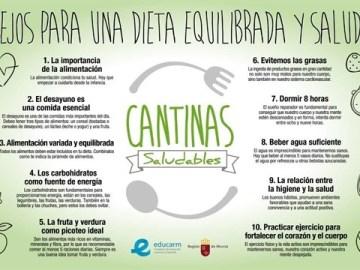 Murcia, primera comunidad autónoma sin bollería, chucherías o bebidas en los colegios