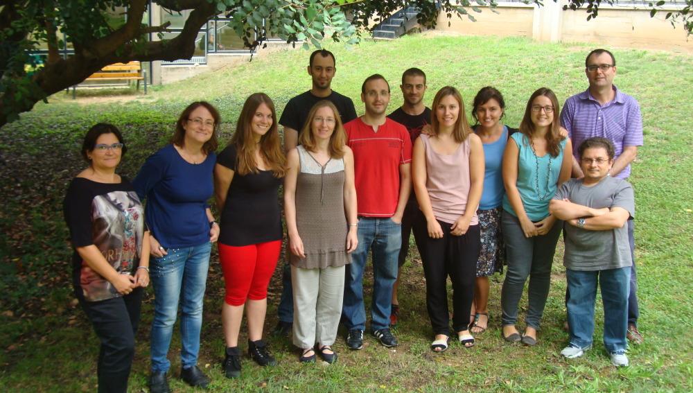 Grupo de investigación liderado por Jordi Surrallés