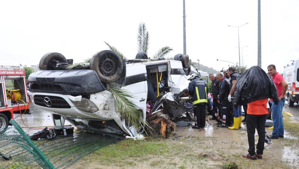 Accidente de autobús en Turquía