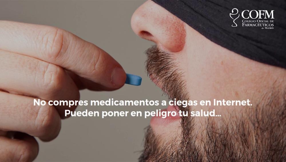 El Colegio Oficial de Farmacéuticos de Madrid lanza una campaña contra la venta ilegal de medicamentos en Internet
