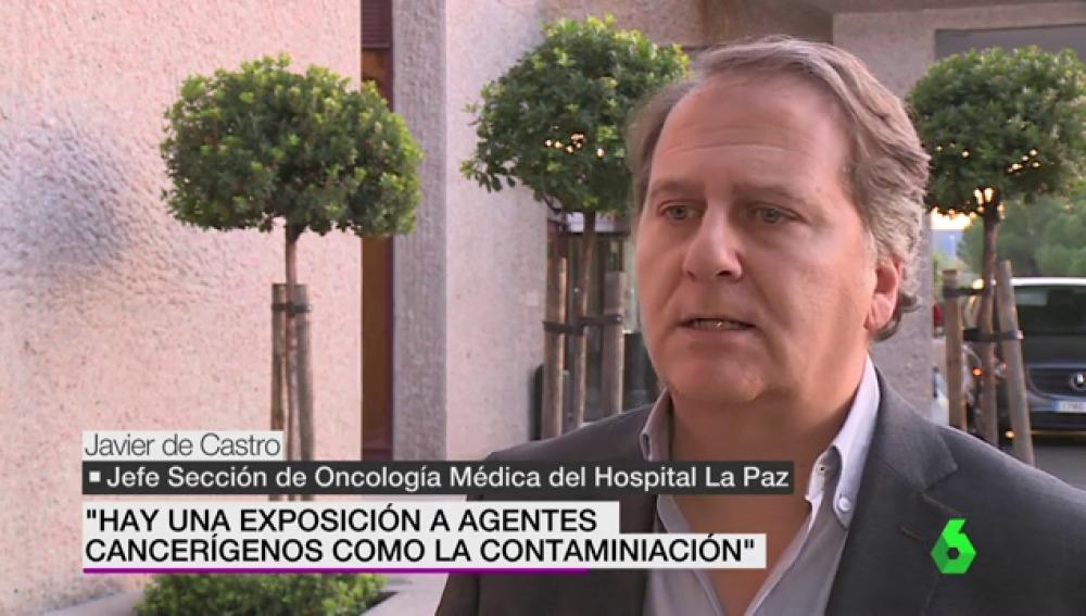 De Castro, jefe de sección de Oncología médica del Hospital La Paz