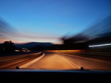 Velocidad en la carretera