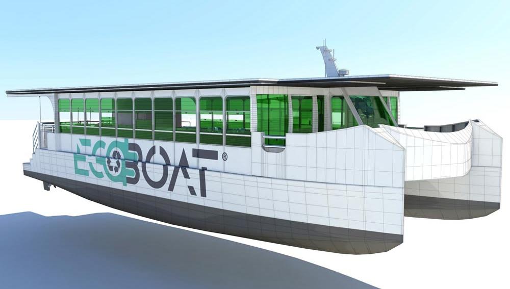 El primer catamarán de Europa que transporta pasajeros con energía solar y no contamina tiene sello español