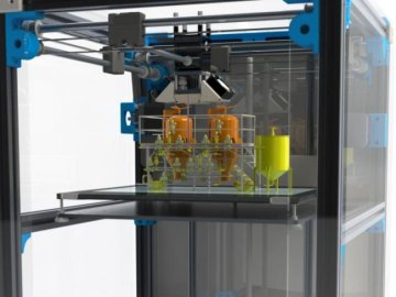 Crean sistema de impresión 3D de fármacos más barato y productivo