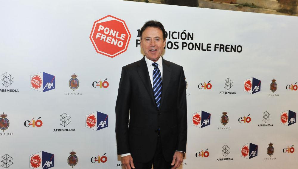 Matías Prats en el photocall de los  Premios Ponle Freno