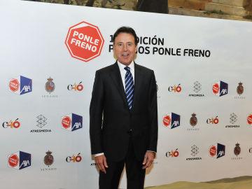 Matías Prats en el photocall de la 10ª edición de los Premios Ponle Freno