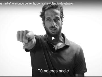 El mundo tenis, contra la violencia de género en la iniciativa de la Fundación Mutua Madrileña: 'Tú no eres nadie'