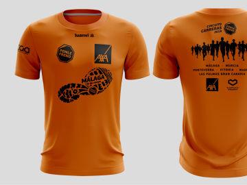 Camiseta Carrera Ponle Freno Málaga