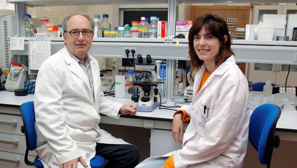 Los investigadores, Nicolás Cuenca e Isabel Ortuño Lizarán