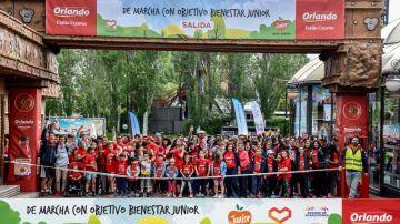 VII edición de la 'Marcha con Objetivo Bienestar Junior'