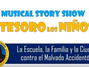'Musical Story Show: el tesoro de los niños', la inicitiva que enseña a los niños educación vial
