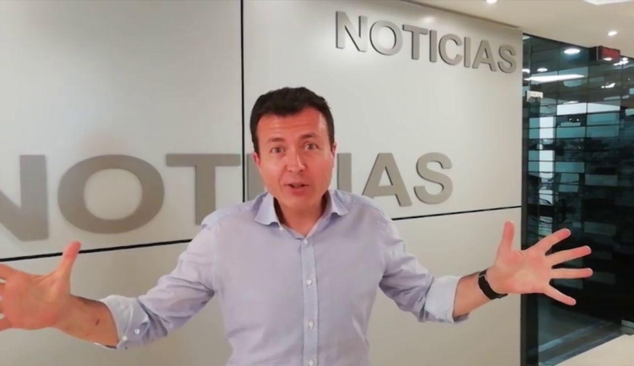 Manu Sánchez te anima a participar en la carrera Ponle Freno de Pontevedra