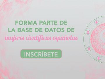 Forma parte de la base de datos de mujeres científicas españolas